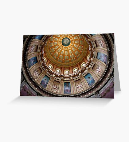 Capitol Dome (Lansing, Michigan) Greeting Card