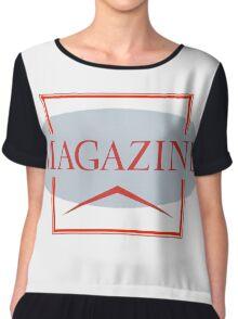 Magazine Chiffon Top