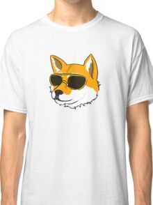 Sunglasses Shiba (no text) Classic T-Shirt