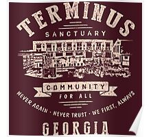 Terminus The Walking Dead Poster