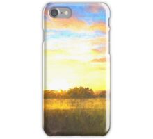 Sunrise at the inlet 2 iPhone Case/Skin