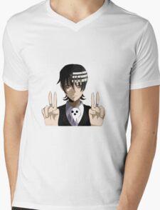 Death the kid Mens V-Neck T-Shirt