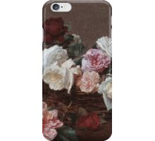 New Order - Power Corruption & Lies Tshirt (High Resolution) iPhone Case/Skin