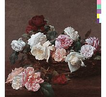 New Order - Power Corruption & Lies Tshirt (High Resolution) Photographic Print