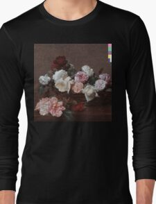 New Order - Power Corruption & Lies Tshirt (High Resolution) Long Sleeve T-Shirt