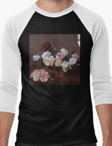 New Order - Power Corruption & Lies Tshirt (High Resolution) Men's Baseball ¾ T-Shirt