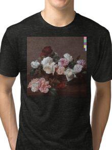 New Order - Power Corruption & Lies Tshirt (High Resolution) Tri-blend T-Shirt