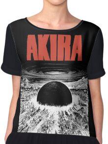 AKIRA - BLAST (WHITE) TSHIRT Chiffon Top
