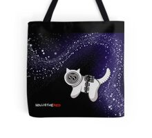 Astrokitty the space cat Tote Bag