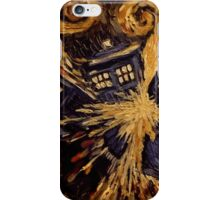 Doctor Who- Van Gogh Exploding Tardis iPhone Case/Skin