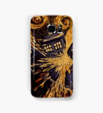 Doctor Who- Van Gogh Exploding Tardis Samsung Galaxy Case/Skin