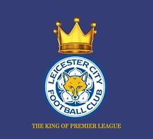 Leicester City The King of EPL white-blue T-Shirt