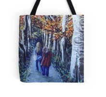 Autumn Afternoon, the long way home. Tote Bag