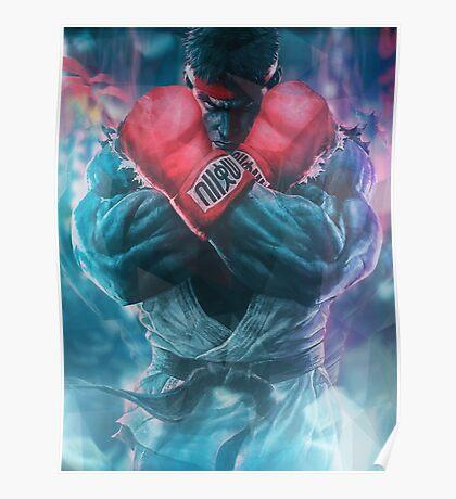 SFV Polygon Ryu Poster