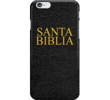 Santa Biblia iPhone Case/Skin