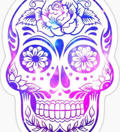 Space Skull Sticker