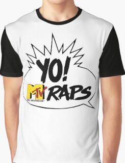 Yo Raps Graphic T-Shirt