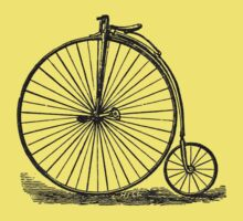 Penny Farthing One Piece - Short Sleeve
