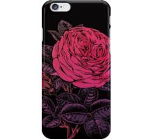 Hello Beautiful Pink Abstract Rose iPhone Case/Skin