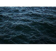 Sea surface. Background. Texture. Photographic Print