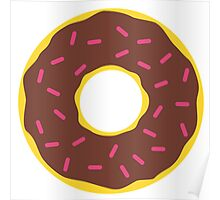 Chocolate Donut Poster