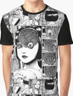 Uzumaki / Spiral - Junji Ito Tshirt (High Quality) Graphic T-Shirt