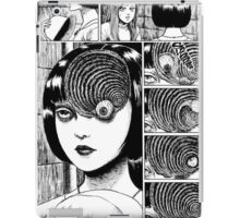 Uzumaki / Spiral - Junji Ito Tshirt (High Quality) iPad Case/Skin