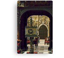 King's Interior 21 Canvas Print