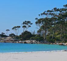 Beach, St Helens, Tasmania, Australia Sticker