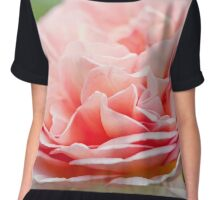 A blooming peony flower Chiffon Top