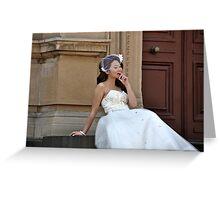Bride's Dream Greeting Card