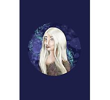 White Forest Elf Photographic Print