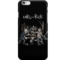 Carl and Rick - The Walking Dead iPhone Case/Skin