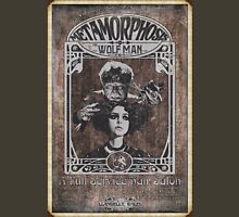 Metamorphosis by The Wolf Man: A Full Service Hair Salon (Old Postcard) Unisex T-Shirt