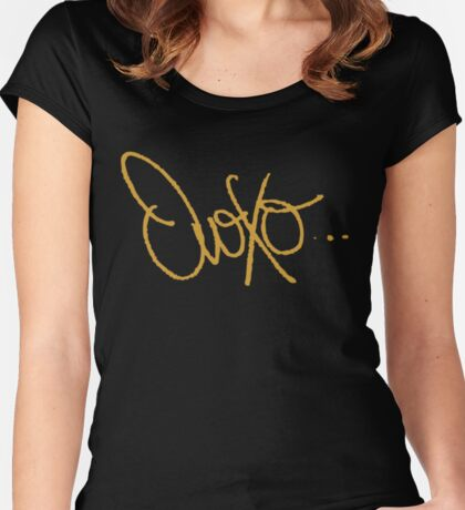 Ovoxo Women's Fitted Scoop T-Shirt