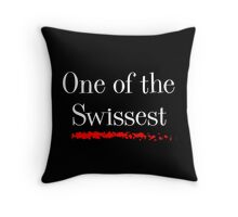 One of the Swissest Throw Pillow