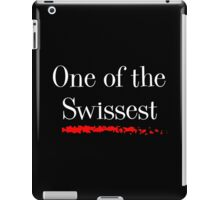 One of the Swissest iPad Case/Skin