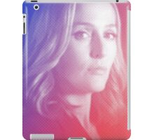 X-files Dana Scully sticker iPad Case/Skin