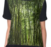 Bamboo Forest Chiffon Top