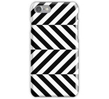 Stripes pattern iphone-case bw iPhone Case/Skin