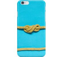 Four looped knot iPhone Case/Skin