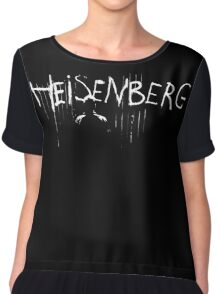 My name is Heisenberg - Graffiti Spray Paint Breaking Bad Chiffon Top