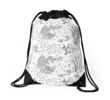 Under Water Drawstring Bag