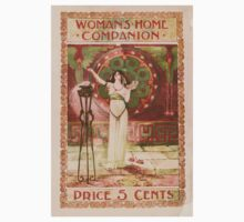 Artist Posters Woman's home companion Price 5 cents 0600 Baby Tee