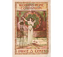 Artist Posters Woman's home companion Price 5 cents 0600 Photographic Print