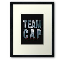Team Cap Framed Print