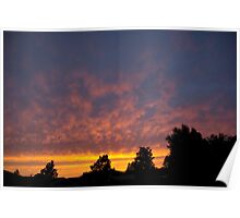 Sunset Colour. Poster