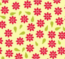 Pattern little pink flowers Sticker