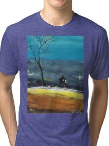Night Lamp Tri-blend T-Shirt
