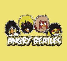 Angry Birds Parody- Angry Beatles - Beatles Parody Baby Tee
